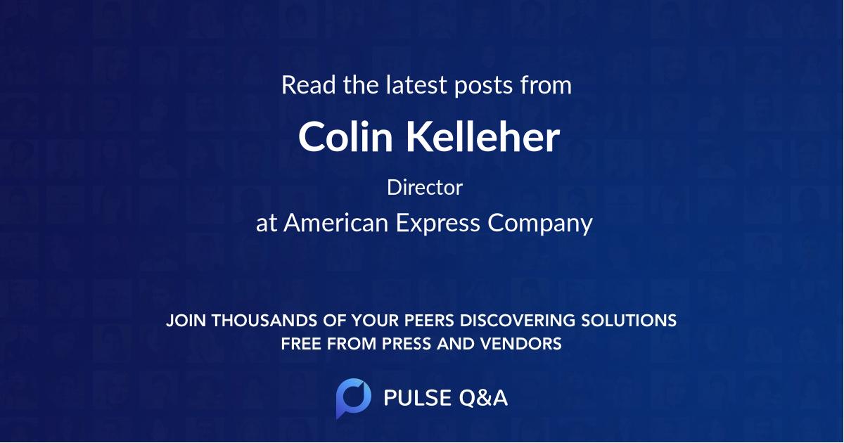 Colin Kelleher