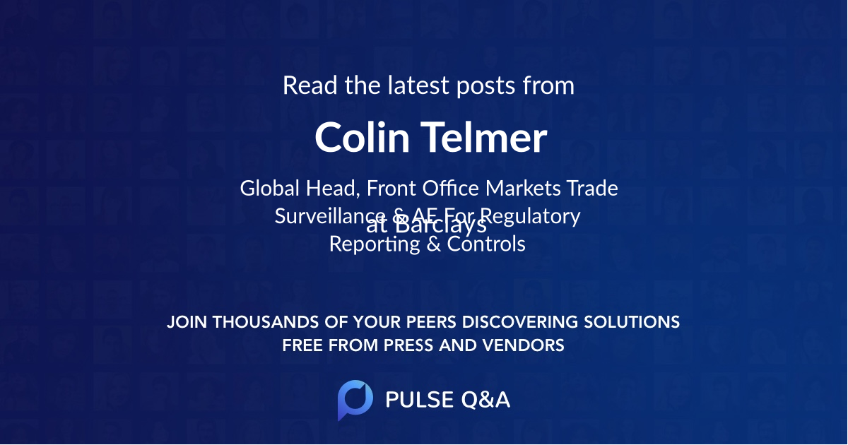 Colin Telmer