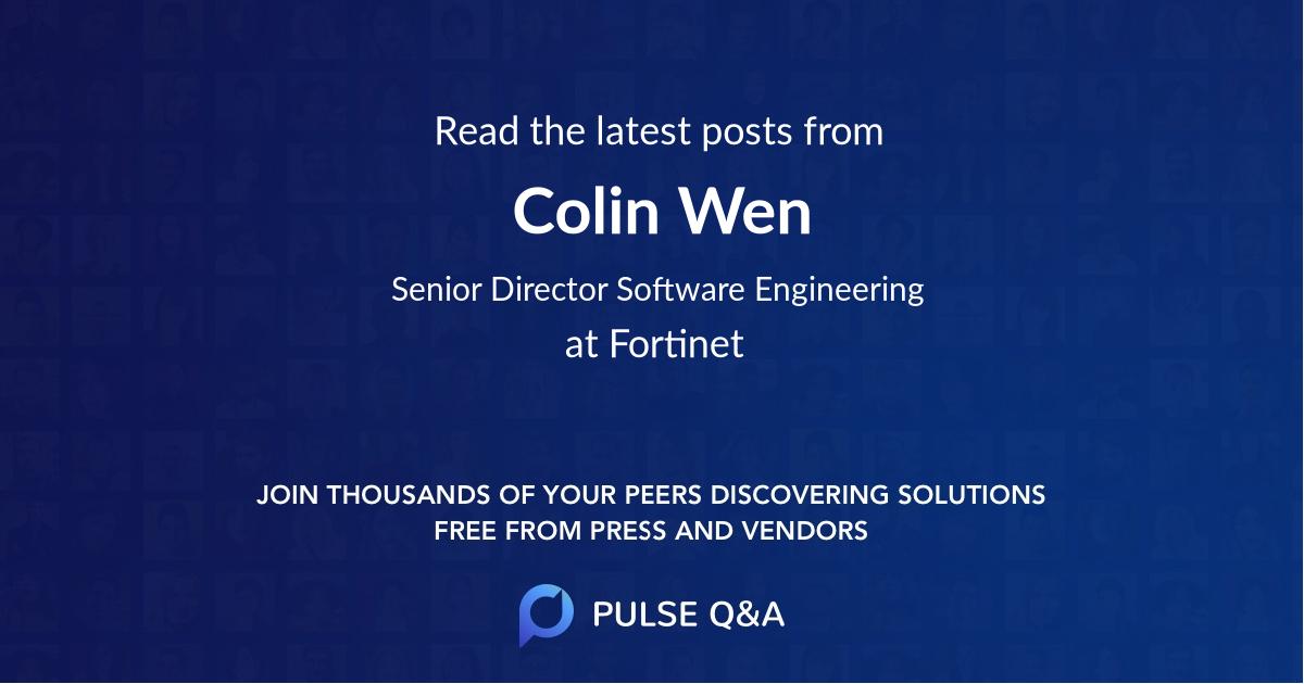 Colin Wen