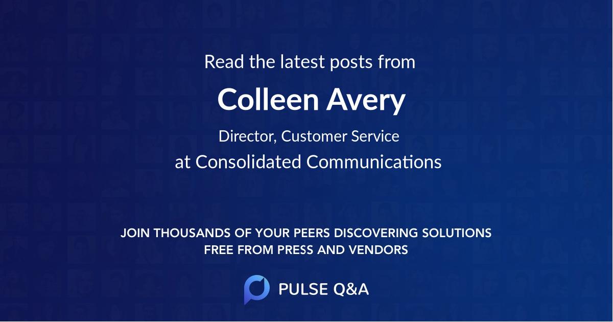 Colleen Avery