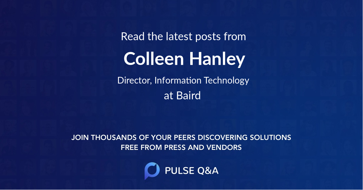 Colleen Hanley