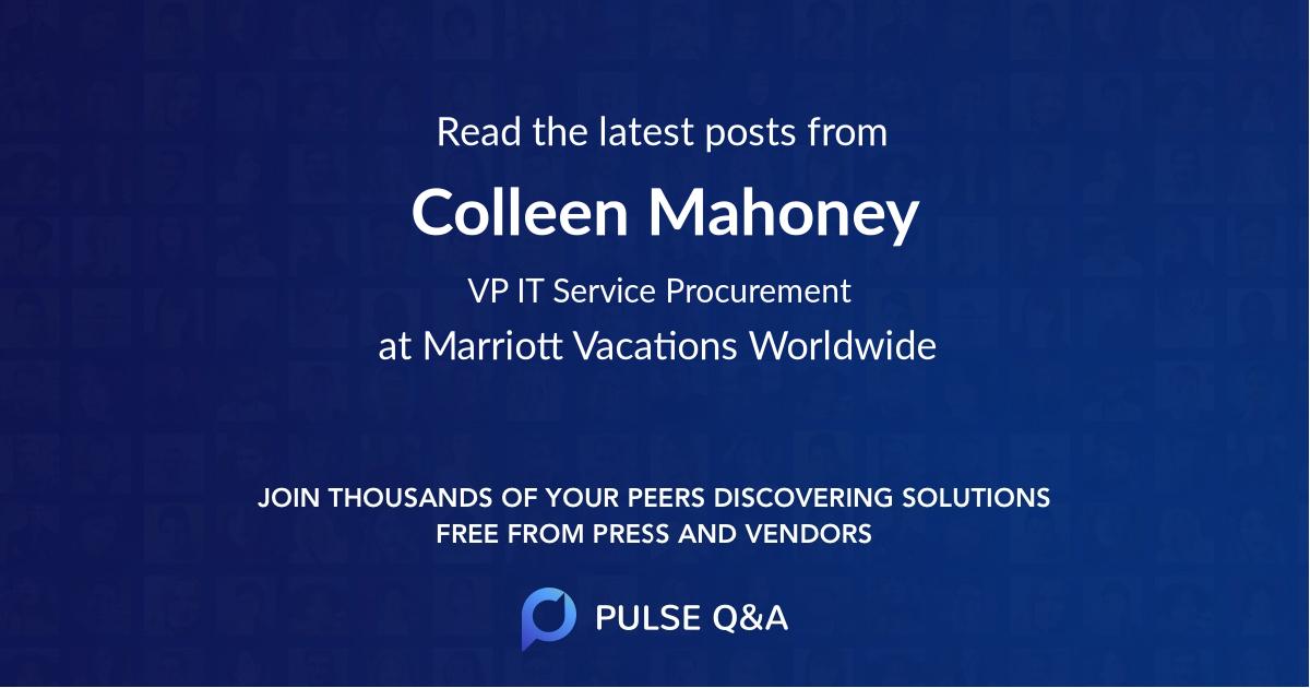 Colleen Mahoney