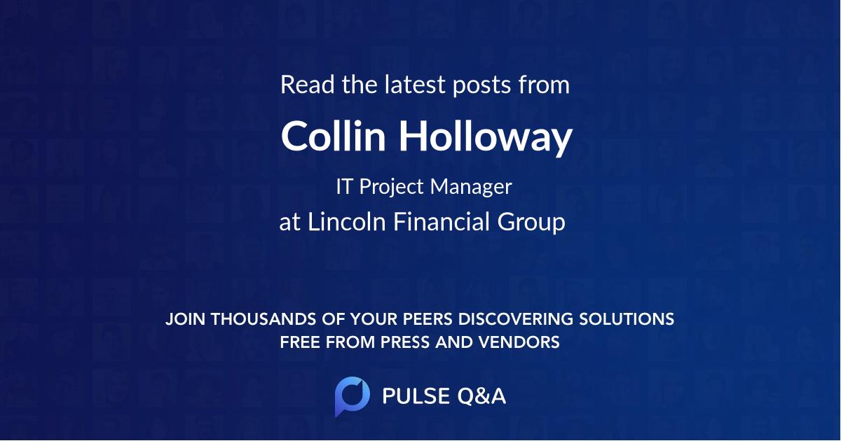 Collin Holloway