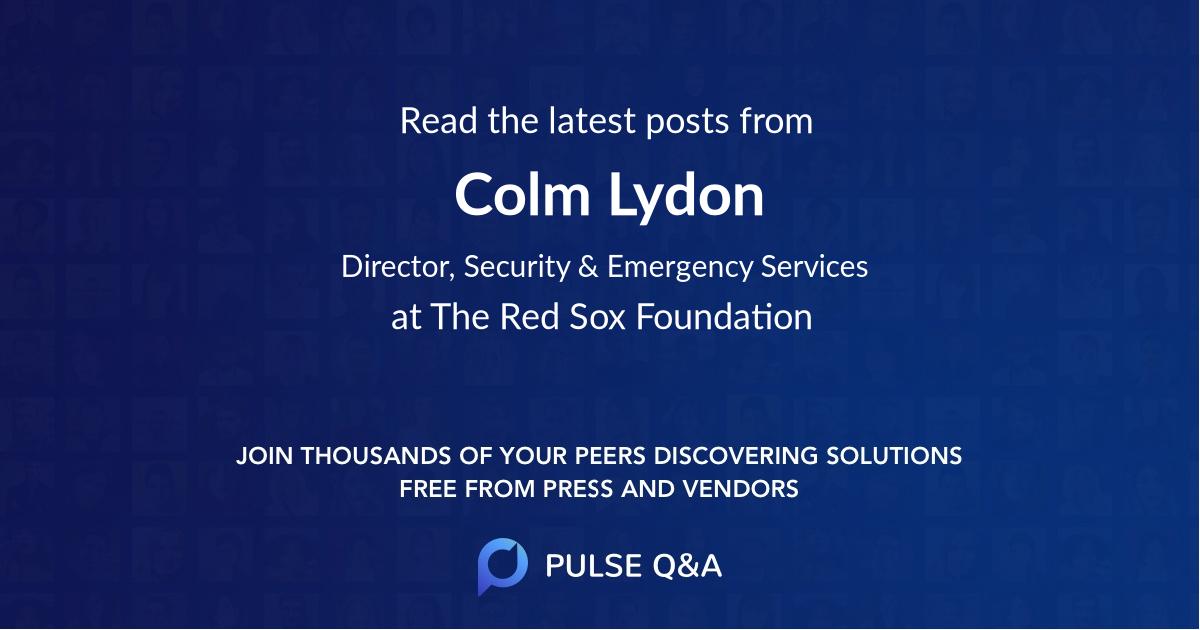 Colm Lydon