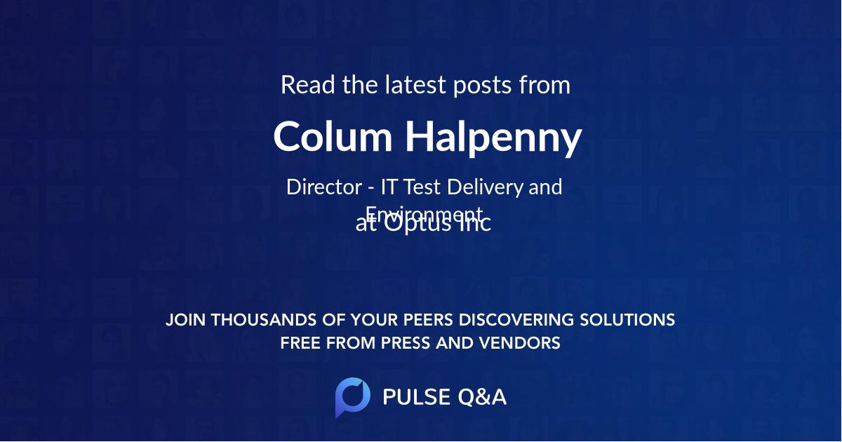 Colum Halpenny