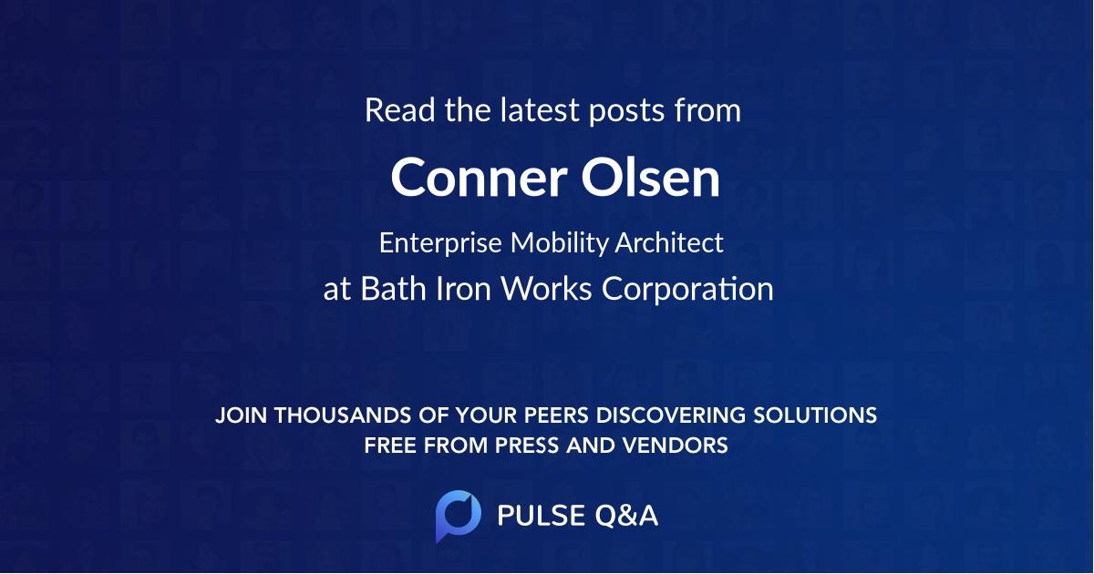 Conner Olsen