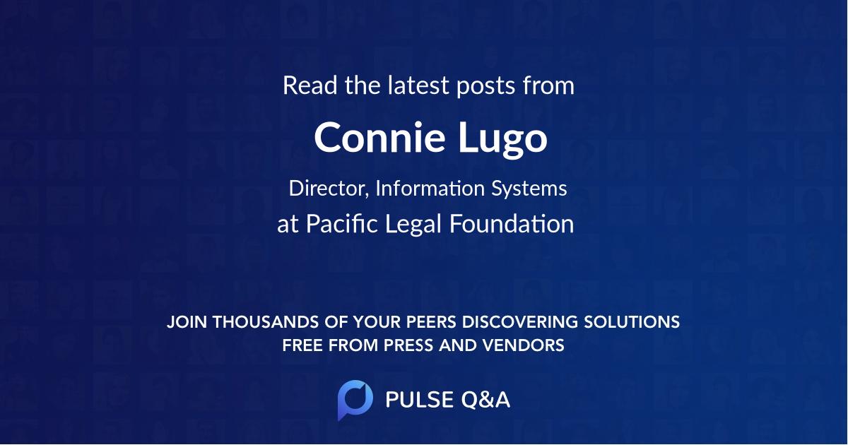 Connie Lugo
