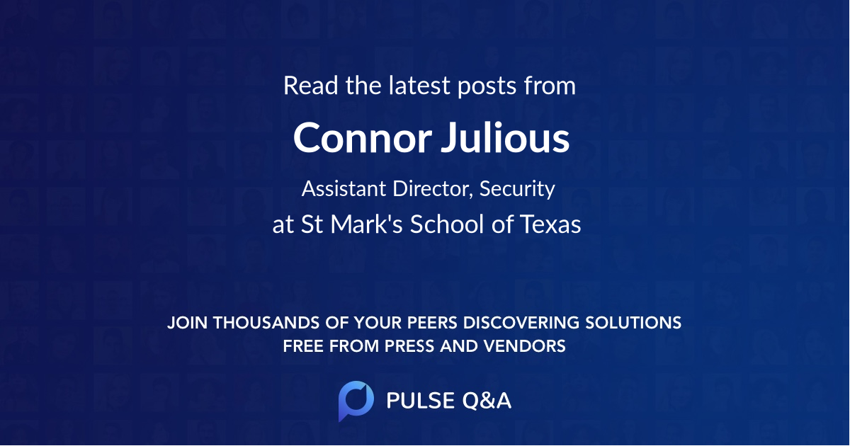 Connor Julious