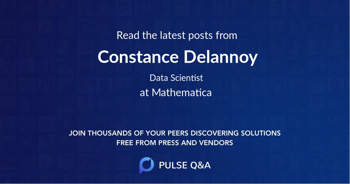 Constance Delannoy