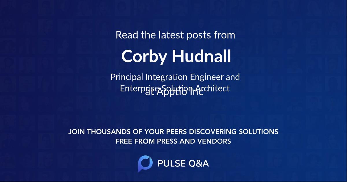 Corby Hudnall