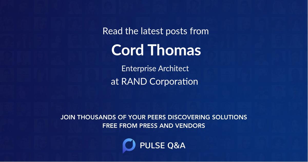 Cord Thomas