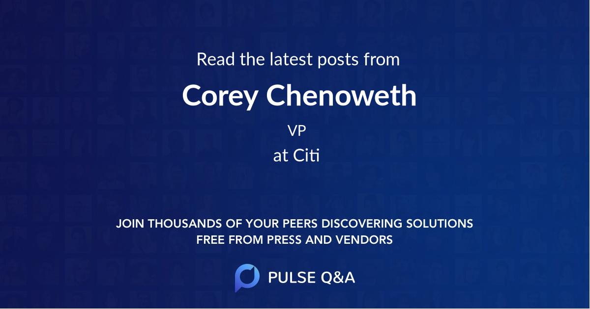 Corey Chenoweth