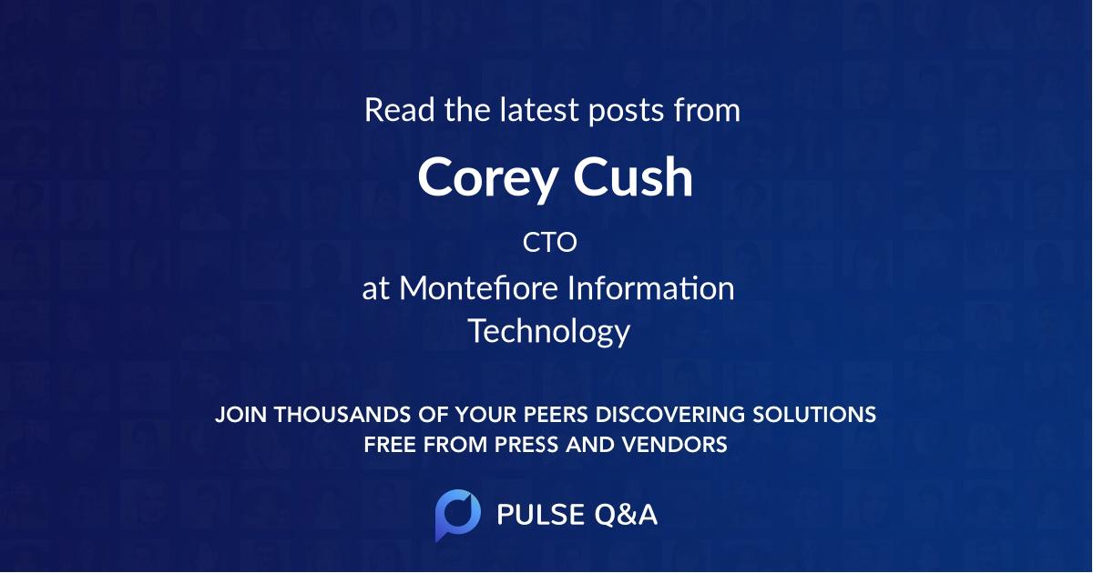 Corey Cush