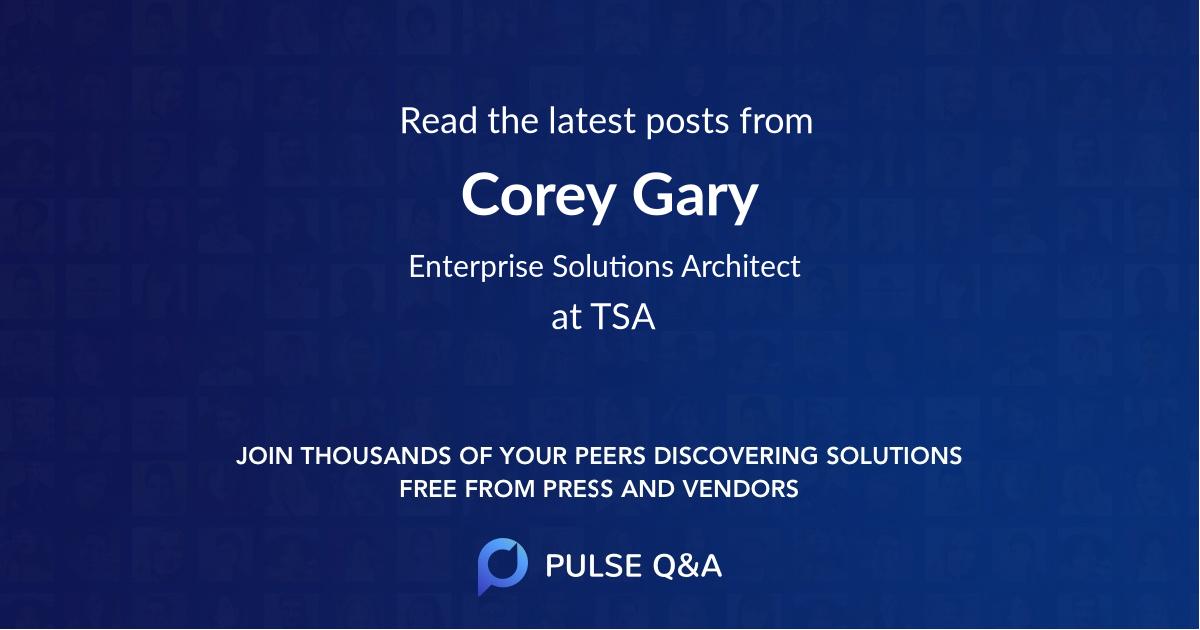 Corey Gary