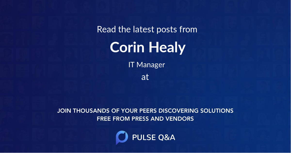 Corin Healy