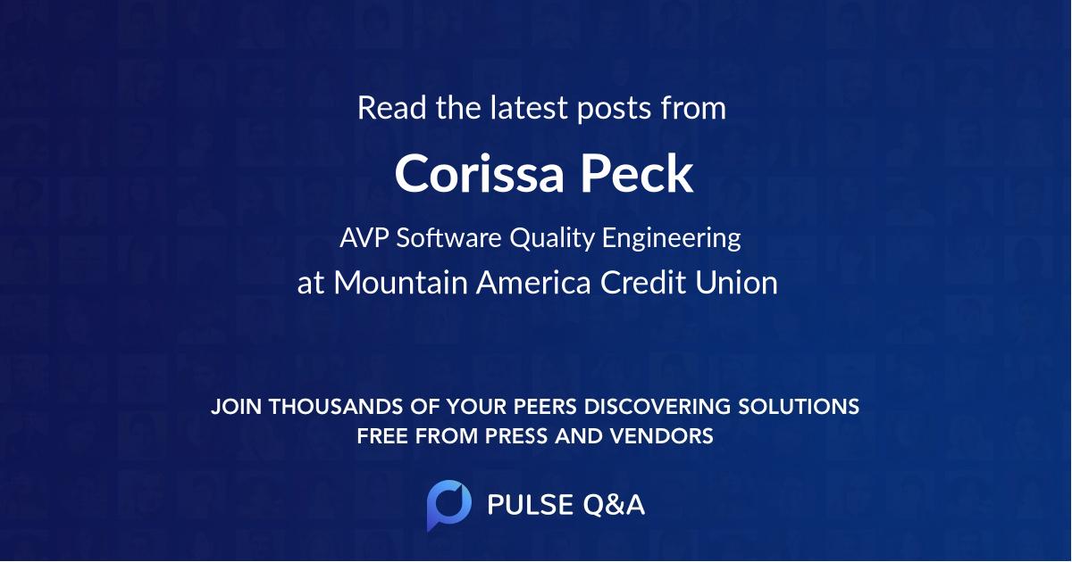 Corissa Peck
