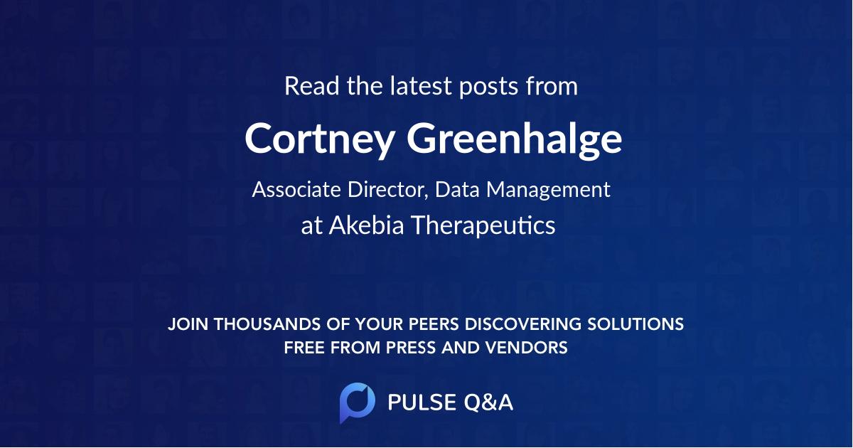 Cortney Greenhalge