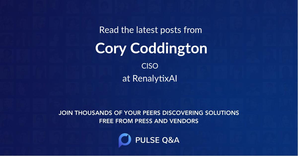 Cory Coddington