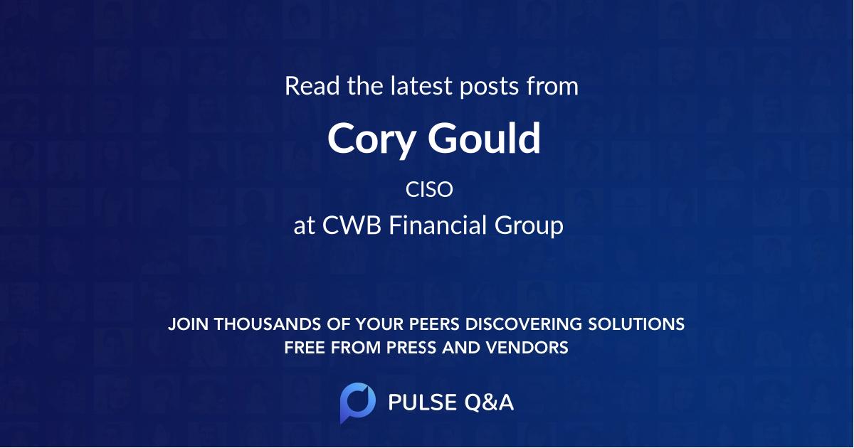 Cory Gould