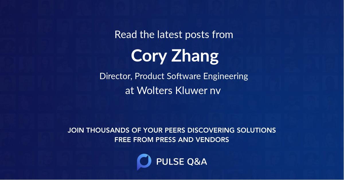 Cory Zhang