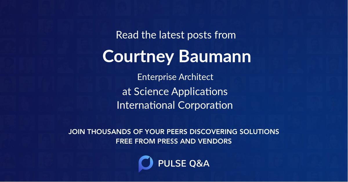 Courtney Baumann