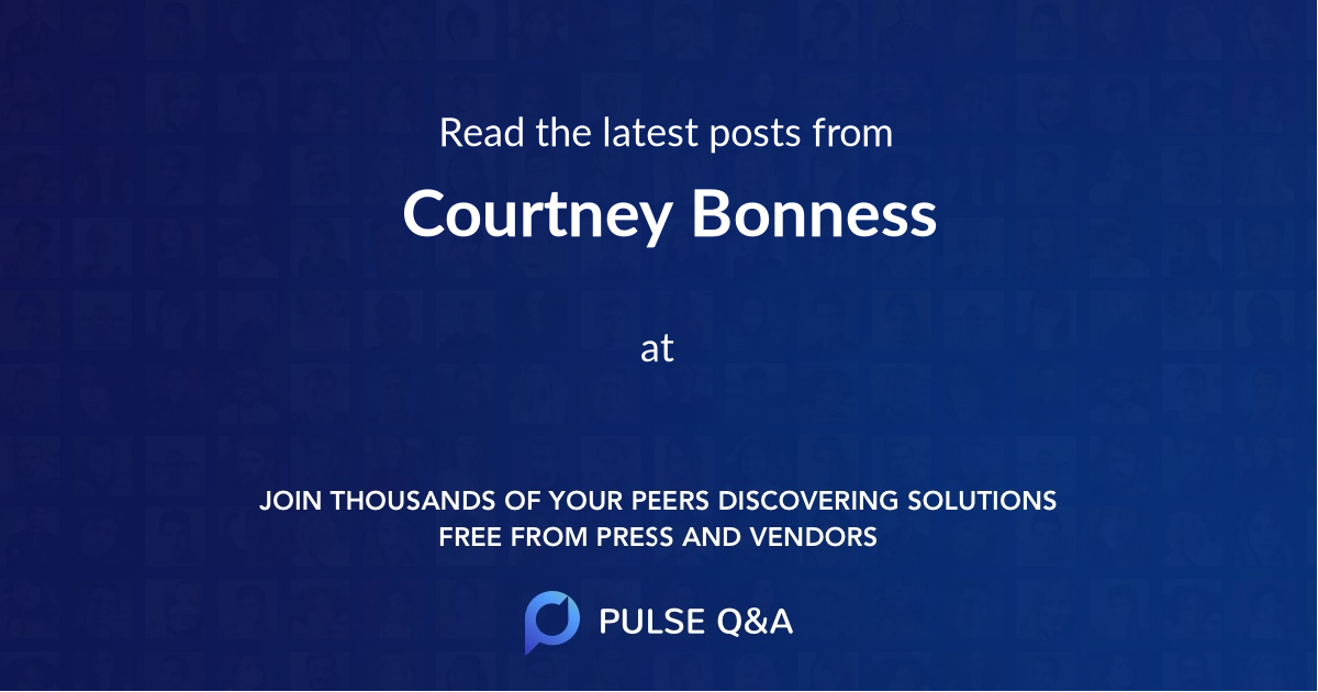 Courtney Bonness