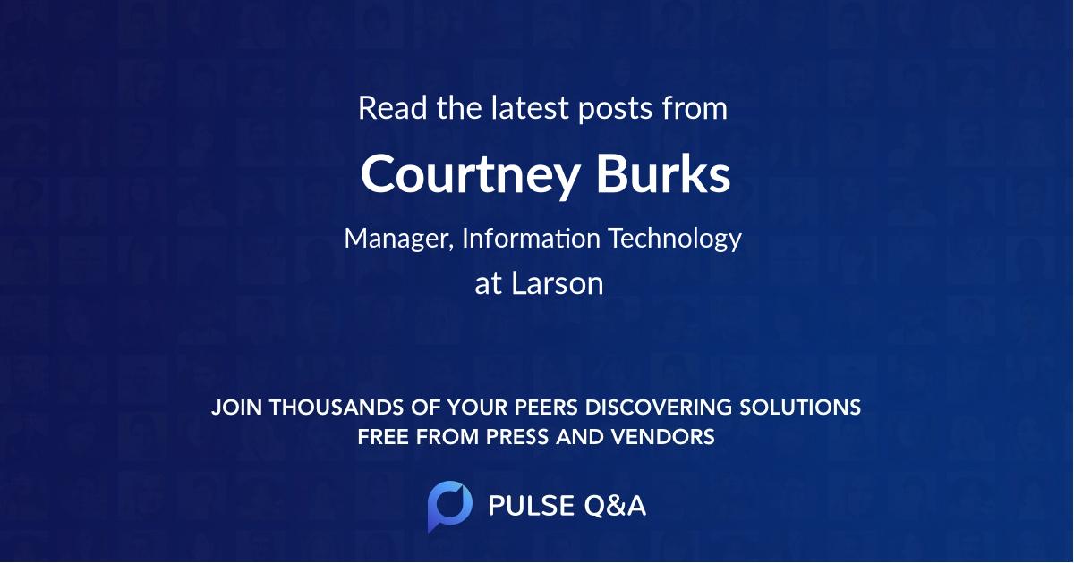 Courtney Burks