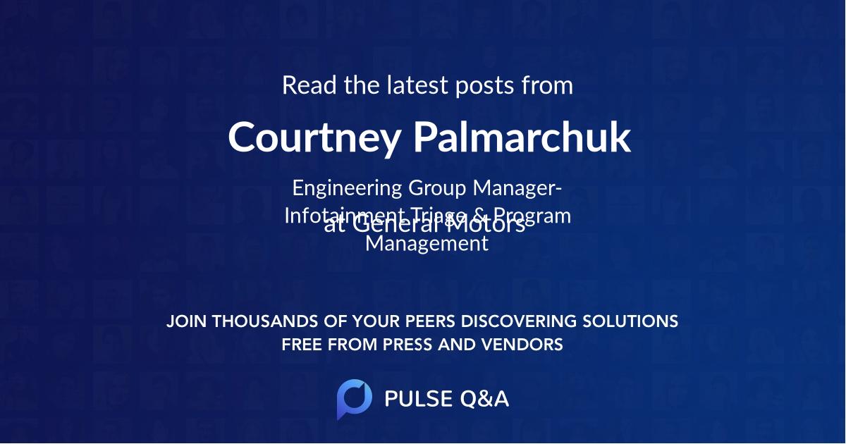 Courtney Palmarchuk
