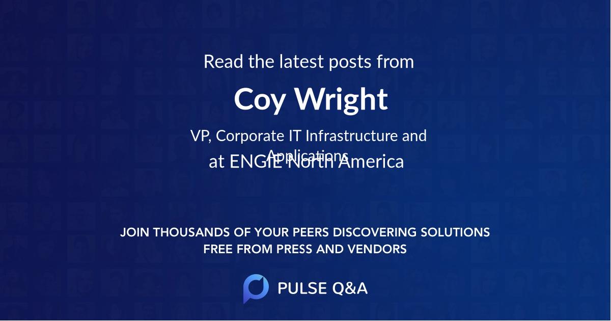 Coy Wright