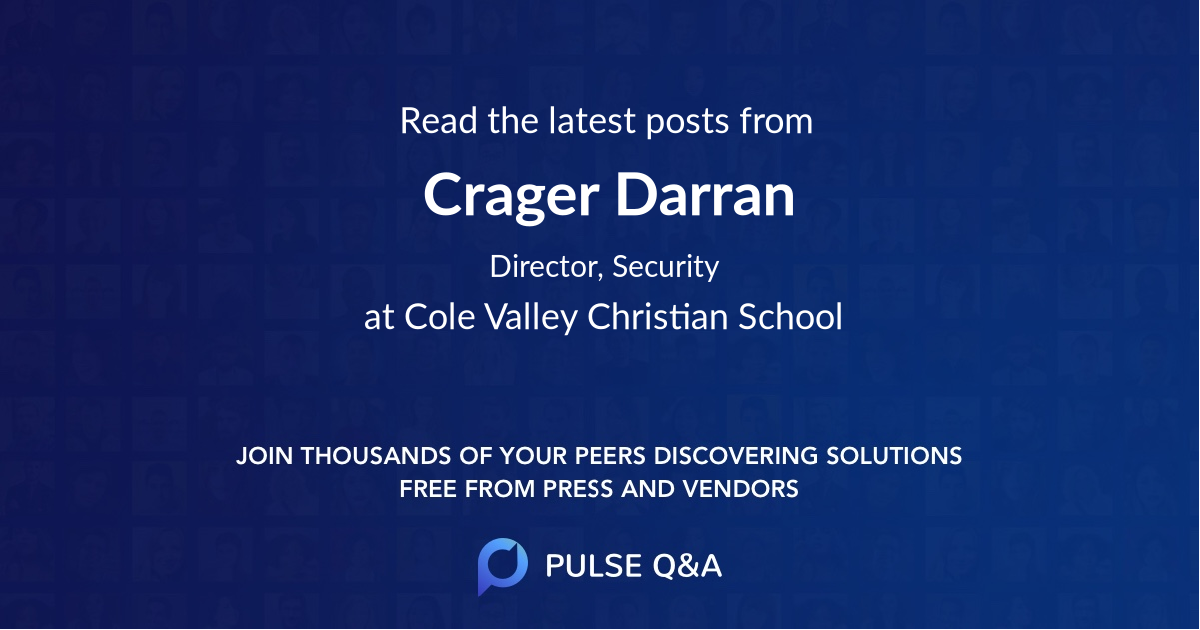 Crager Darran