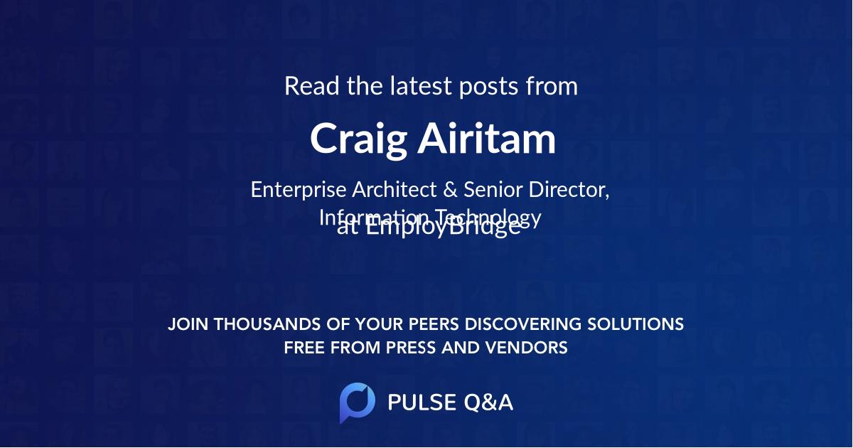 Craig Airitam