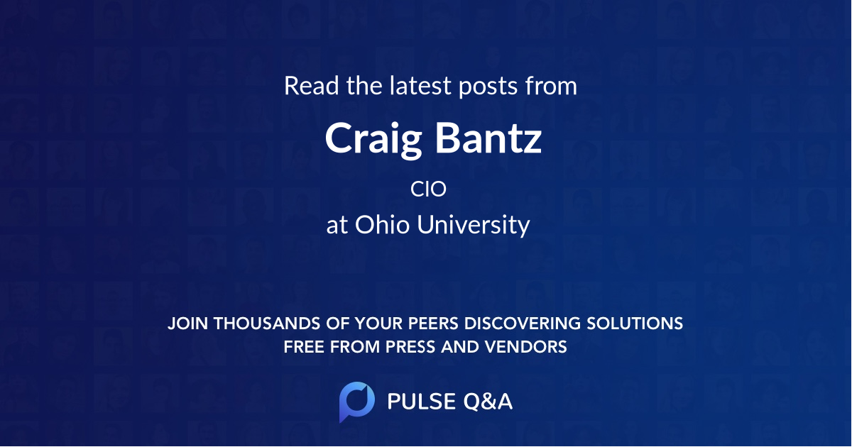 Craig Bantz