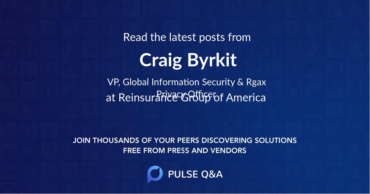 Craig Byrkit