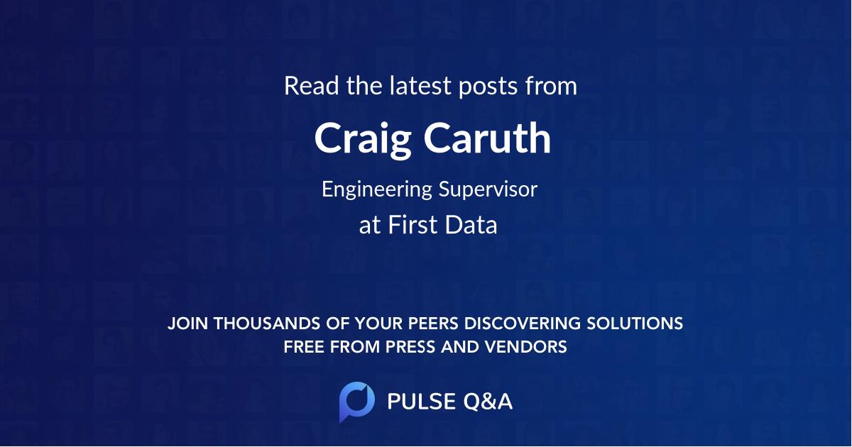Craig Caruth