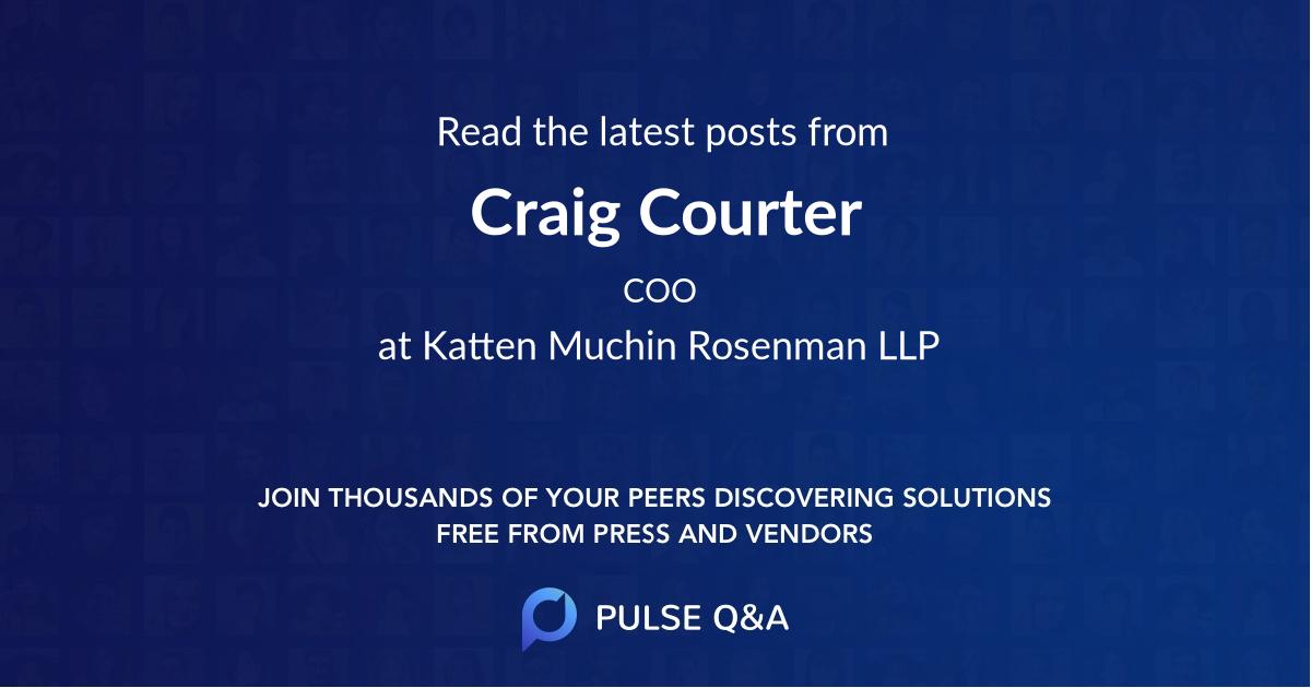 Craig Courter