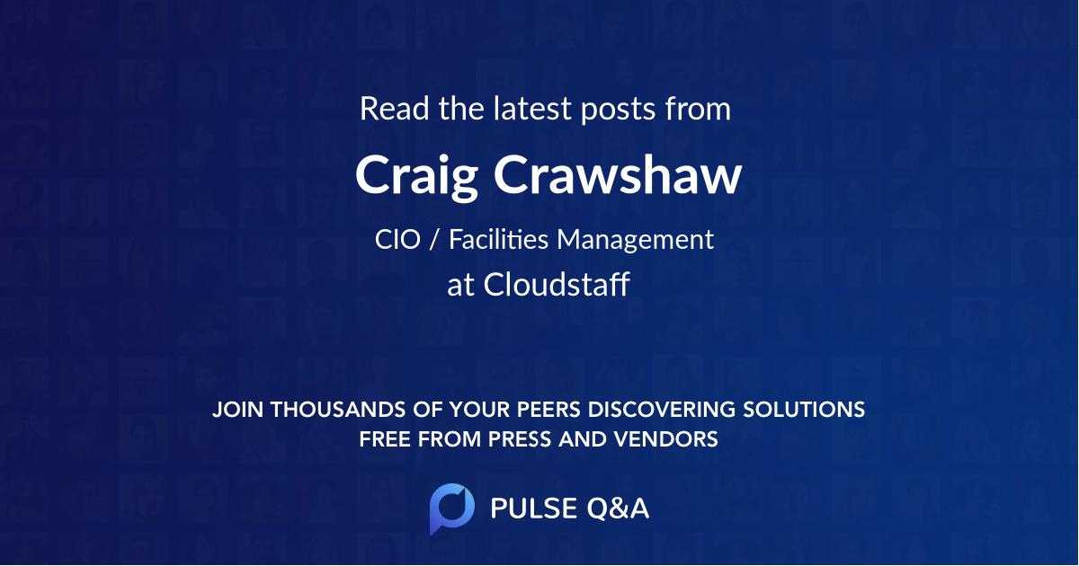 Craig Crawshaw