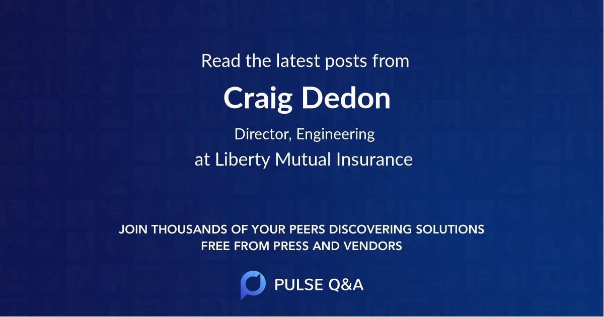 Craig Dedon