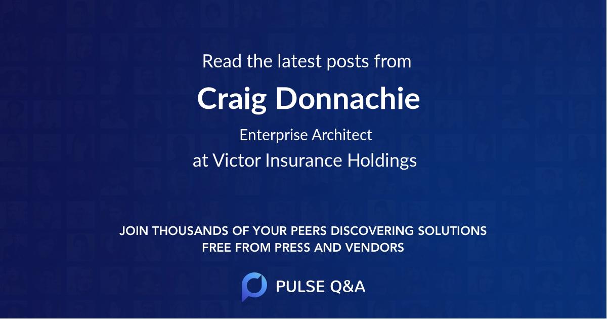 Craig Donnachie