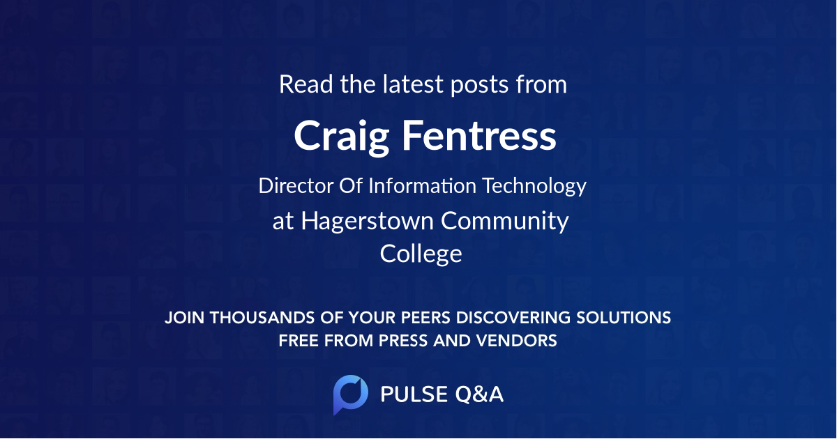Craig Fentress