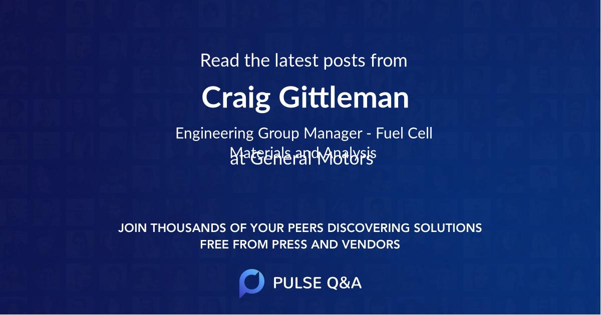 Craig Gittleman