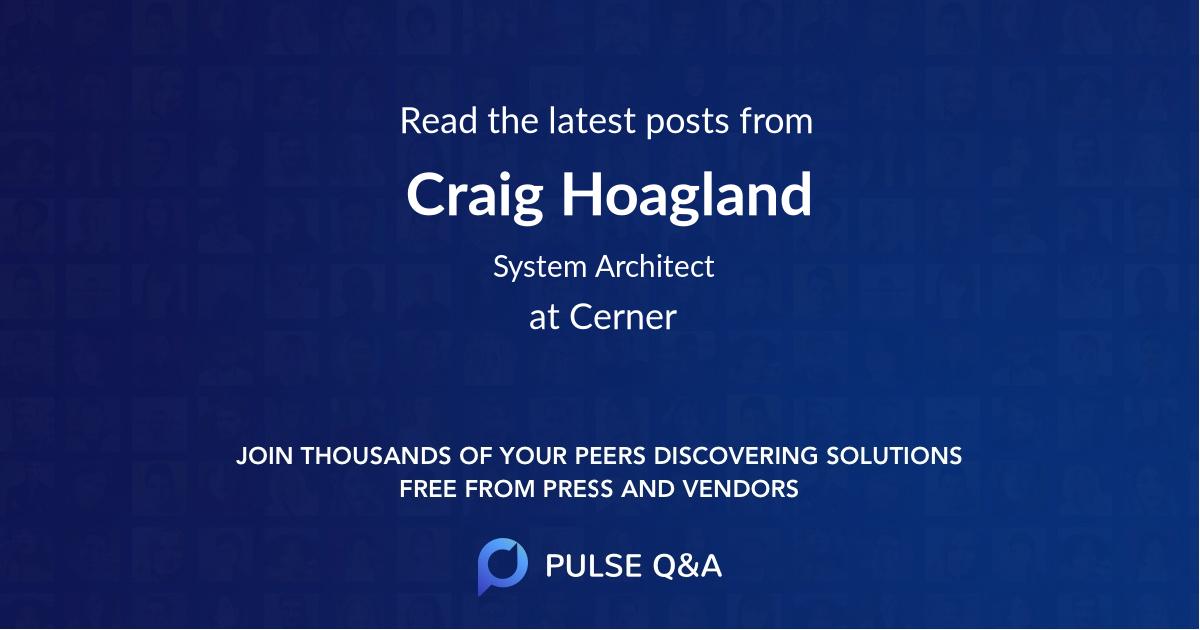 Craig Hoagland