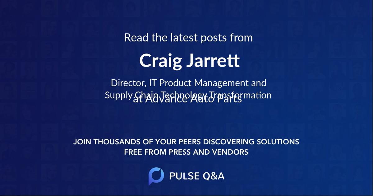 Craig Jarrett