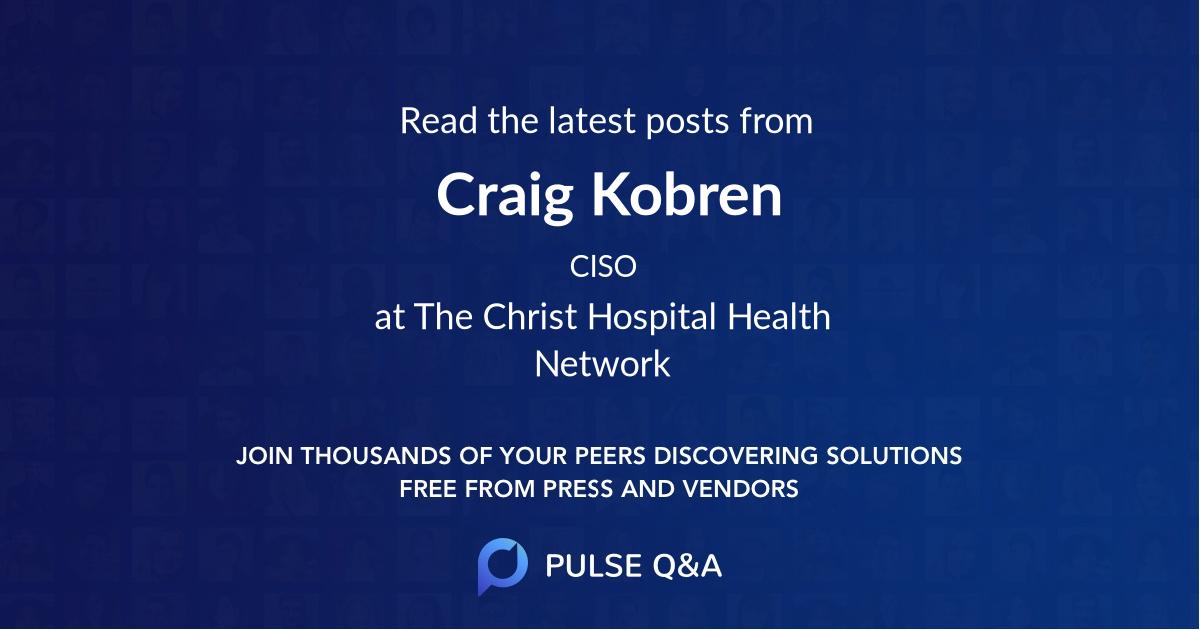 Craig Kobren