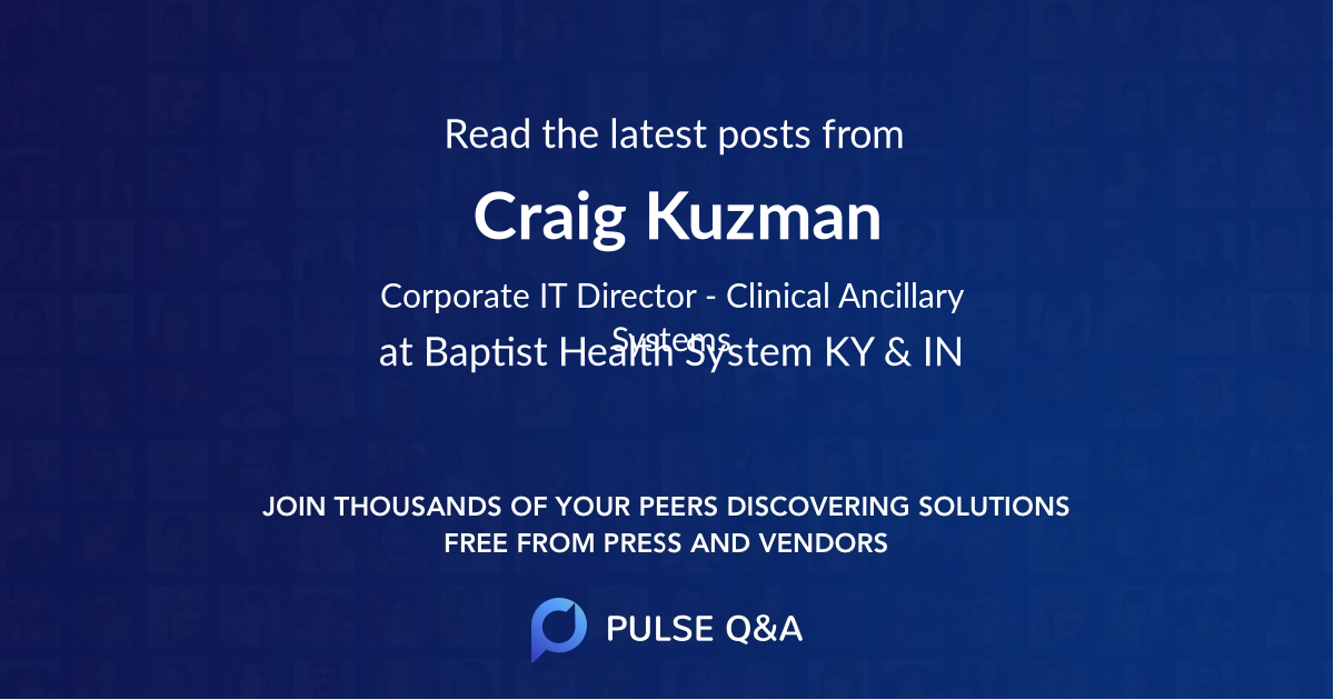 Craig Kuzman