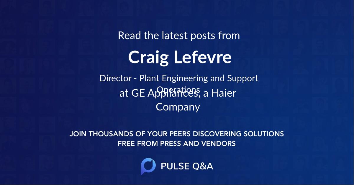 Craig Lefevre