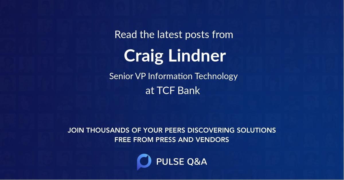 Craig Lindner
