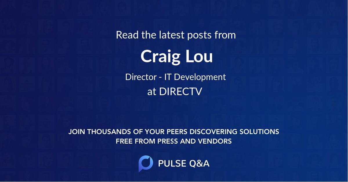 Craig Lou