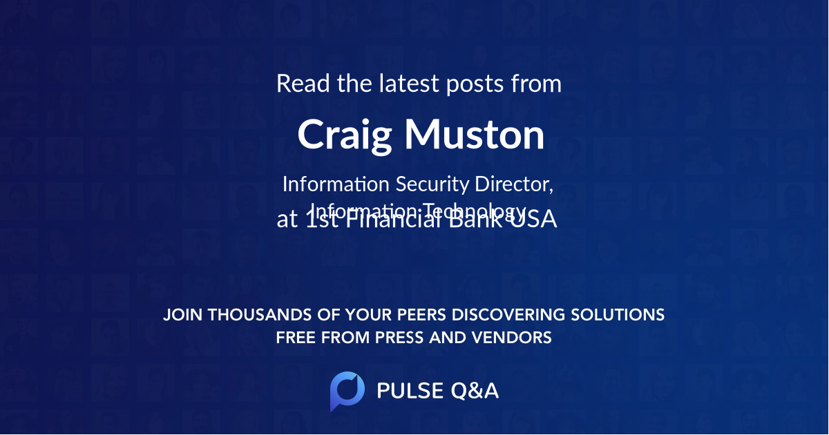 Craig Muston