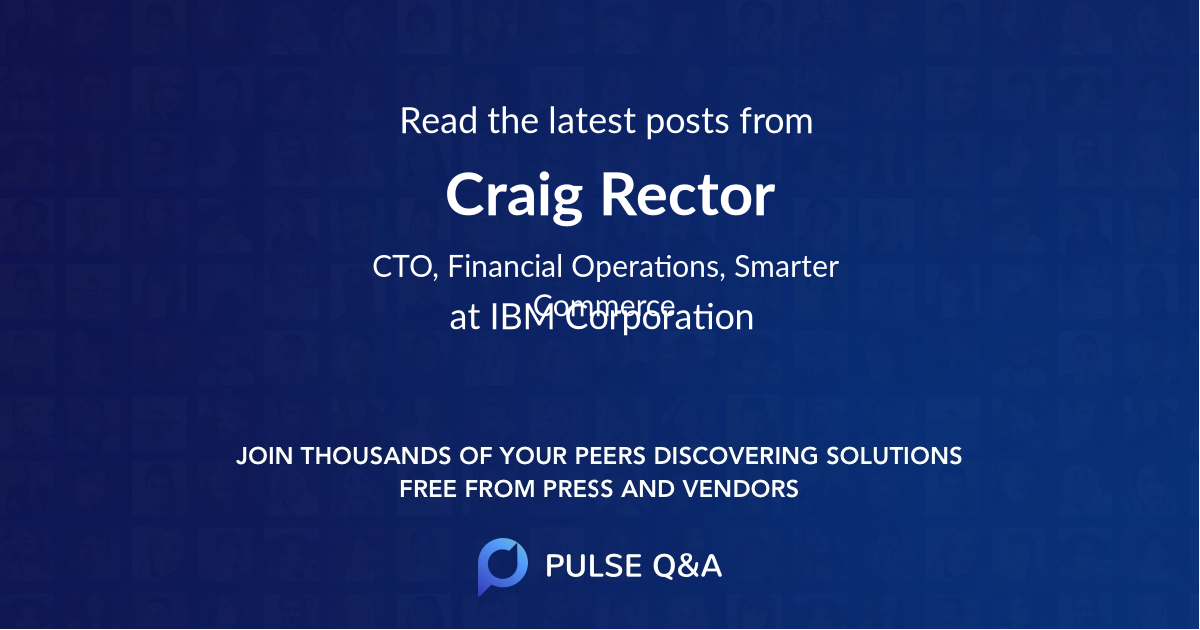 Craig Rector