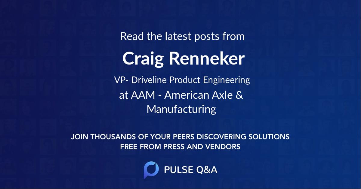 Craig Renneker